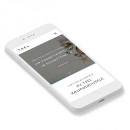 TAEL Kosmetikinstitut Webdesign Portfolio Created 21